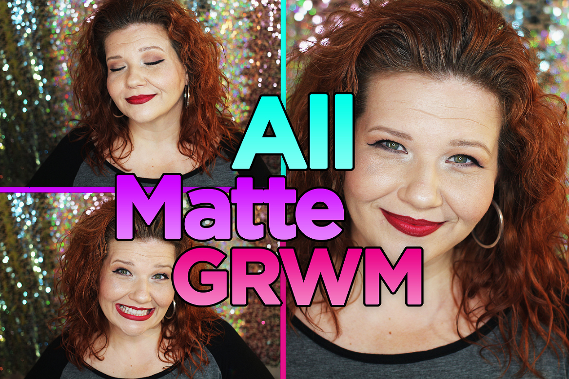 All Matte Makeup Get Ready With Me Tutorial