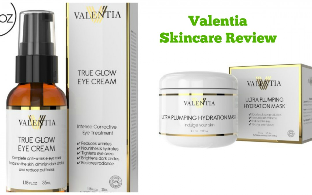 Review: Valentia Ultra Plumping Hydration Mask & True Glow Eye Cream